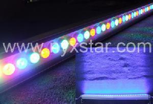 nyxstar led wall wash lampen leuchten 36w power changing