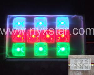 led rgb module 10 leds 12v dc 120 degree viewing angle 0 96w power meter