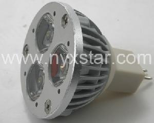 mr16 gu5 3 base spotlights bulbs 3w power 250lm 12v dc voltage