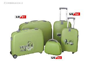 pp luggage suitcase carry travel case