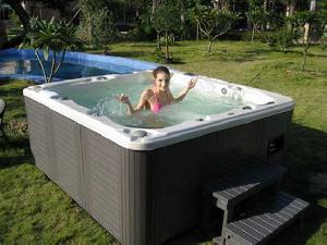 exciting outdoor spa tub jacuzzi whirlpool sr838