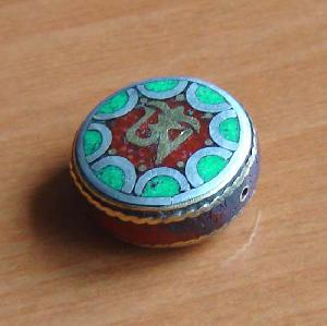 tibetan copper beads