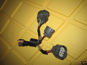94 01 acura integra engine pigtail connector ecu plug
