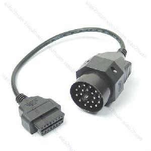 bmw 20 pin obd obd2 16 female adapter connector