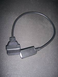 honda 3 pin obd2 obd piombo cavo adattatori vecchio