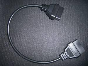nissan 14 pines obd2 dab viejo cable del adaptador de conector