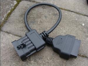 obd obd2 female connnector opel 10 pins cable tech2