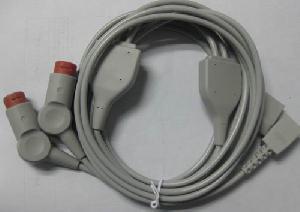 philips utah ibp cable invasive pressure 2 connectors