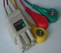 yce205 3ld ecg leadwire