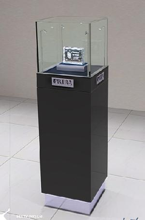 designer glass jewelry display cases cabinet led light