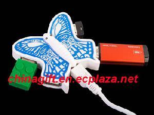 usb butterfly 4 port hub