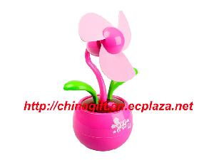 usb cutie flower fan