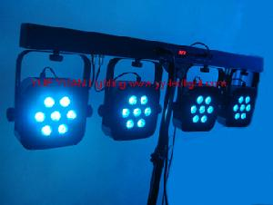 4 bar portable led wash light system package