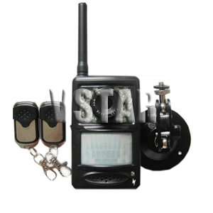 gsm home security system lcd