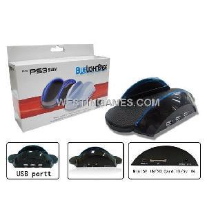 blue light base ps3 slim console