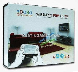 doso wft 306 psp3000 slim psp wireless adapter coverter kit tv