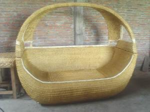 2 rattan boat bed bedroom hotel apartment knock