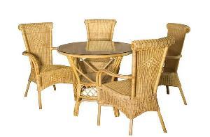 simply rattan dining cirebon java indonesia woven furniture