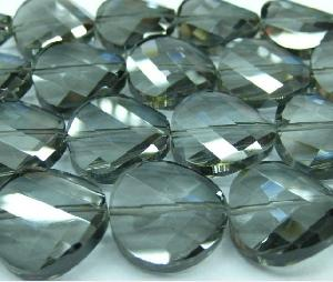 cut crystal beads wholesale