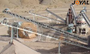belt conveyor varying 40t h 480t