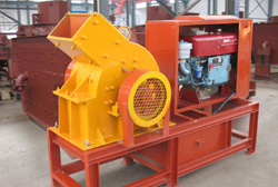 diesel engine crusher places electricity