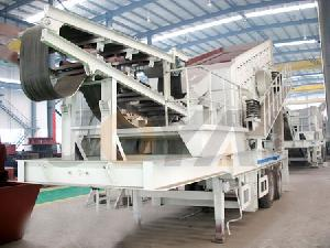 mobile crusher crush machine