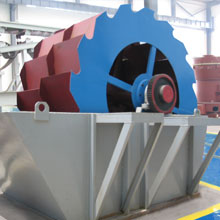 sand washing machine stone factory