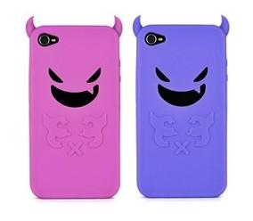 devil silicone skin case cover iphone 4