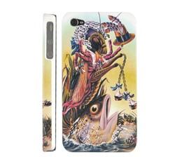 locust hard plastic case cover iphone 4