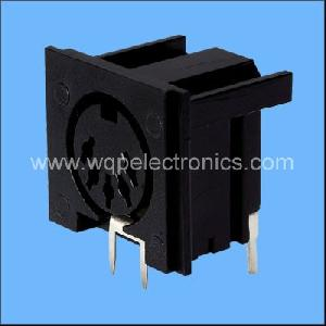 rca jack boards mini din sockets pcb jacks plugs