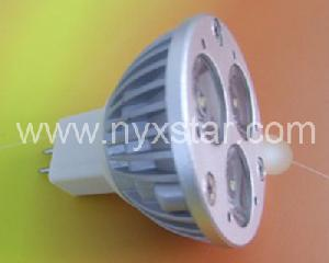 led spotlight mr16 gu5 3 base voltage dc12v 3watt power