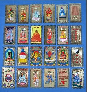 buddha statue cards