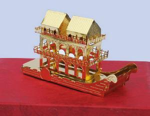 christmas ornaments boat house