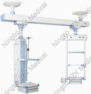 ceiling mounted bed head pendant bridge hospital intensive care units