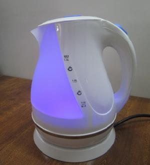 cordless kettle neon light