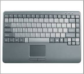 reinforced touch pad keyboard bftpk100