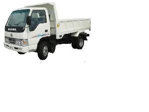 flat bed dumper truck