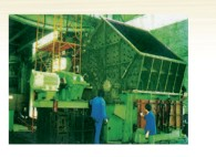stage hammer crusher