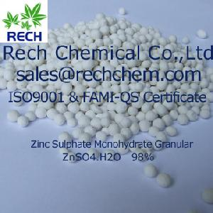 zinc sulphate monohydrate mono zn 35