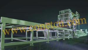 steel gratings welding machine line