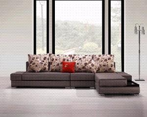 upholstery modern leisure fabric sofa living room seats home furniture manufacturer