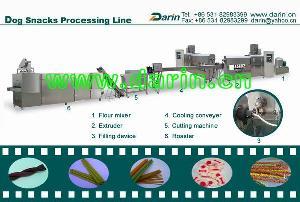dog snacks processing line
