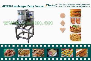 hamburger machine