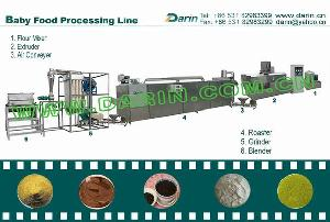 instant flour processing line