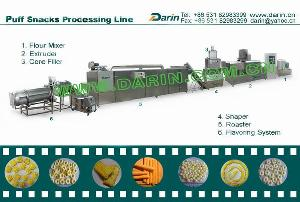 snacks processing line