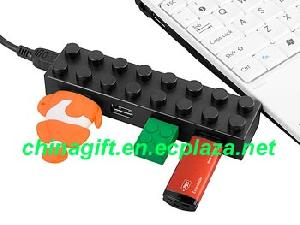 usb brick 4 port hub