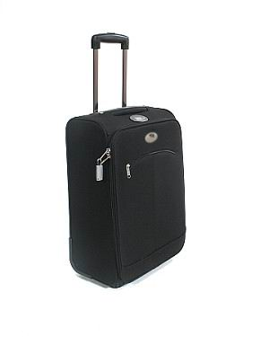 weighing suitcase