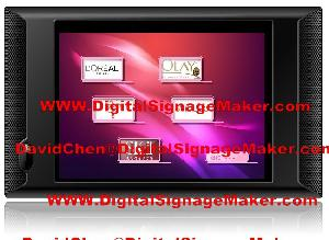 10 touch screen digital signage adevertising store displays monitor