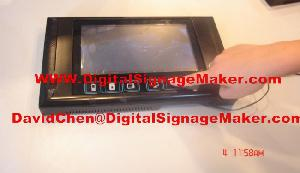 9inch touch icon digital display lcd advertising screen advertise