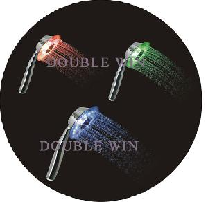 colorful led shower head extension